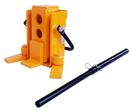 DOSTAWA GRATIS! 44366769 Hydrauliczny podnośnik maszynowy (udźwig: 3000 kg, zakres podnoszenia: 15-155mm)