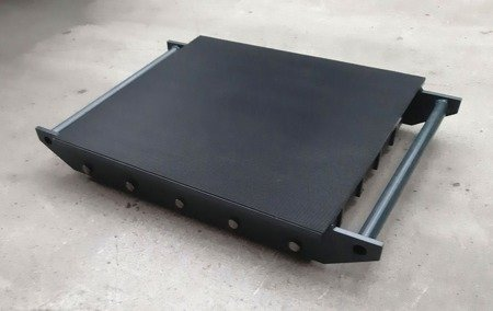 Stalmechon Wózek stały do transportu maszyn, urządzeń i sprzętu (rolki: 20x poliamid, nośność: 22 ton) 50276371