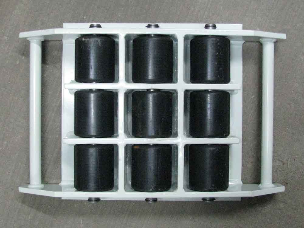 Stalmechon Wózek stały do transportu maszyn, urządzeń i sprzętu (rolki: 9x poliamid, nośność: 10 ton) 50276382
