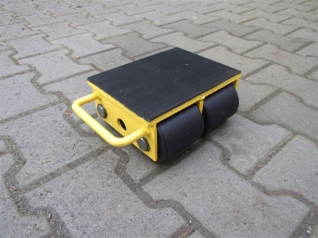 Wózek stały 4 rolkowy, rolki: 4x stal (nośność: 8 T) 12235591