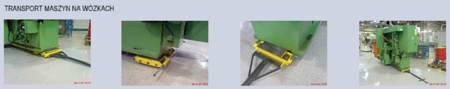 Wózek stały 6 rolkowy, rolki: 6x stal (nośność: 12 T) 12235594
