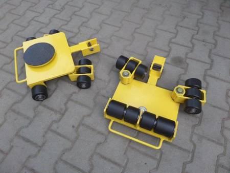 Wózek uniwersalny, rolki: 12 x kompozyt/nylon (nośność: 9 T) 12277128