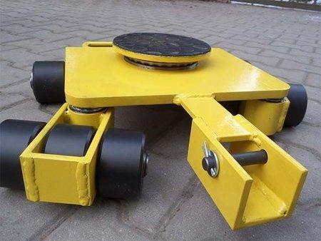 Wózek uniwersalny, rolki: 12x nylon (nośność: 7 T) 12267453